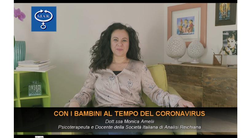 CON I BAMBINI AL TEMPO DEL CORONAVIRUS