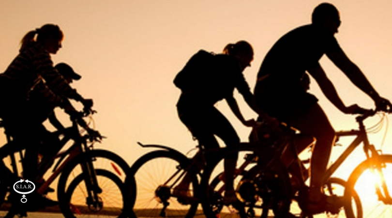 Passeggiare in bicicletta migliora la vista